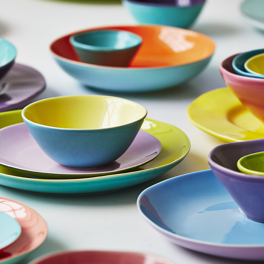 italienische keramik geschirr castelli italienische