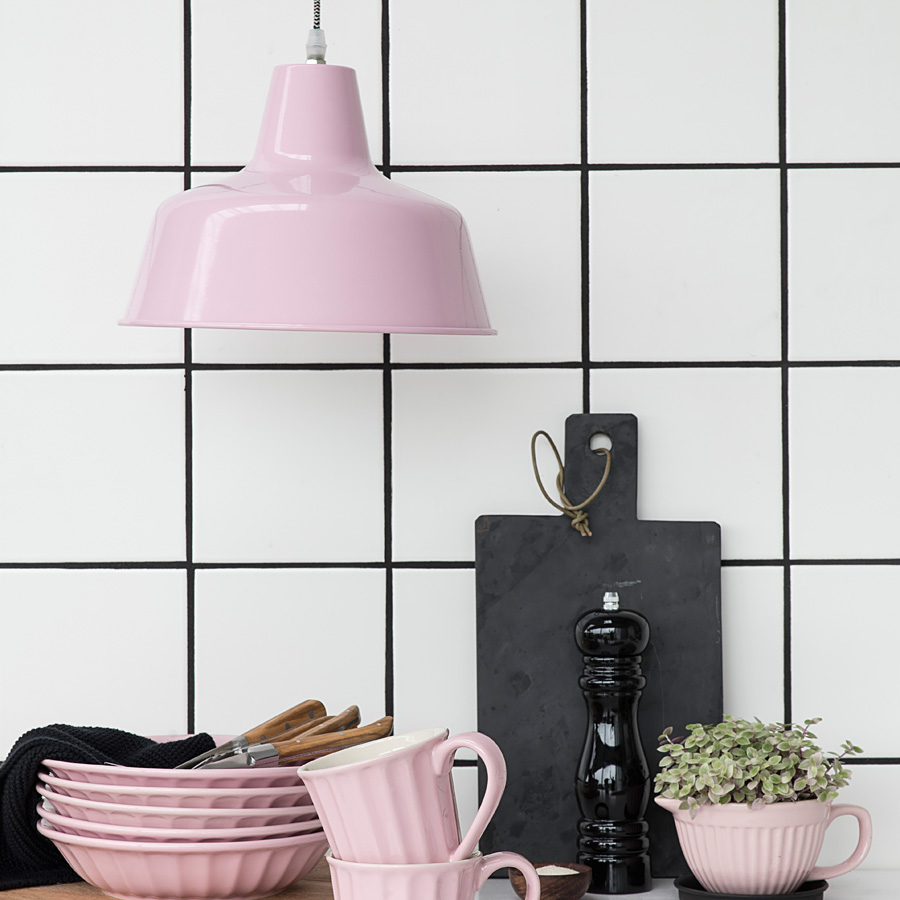 ib laursen mynte lampe metall rosa online kaufen emil. Black Bedroom Furniture Sets. Home Design Ideas