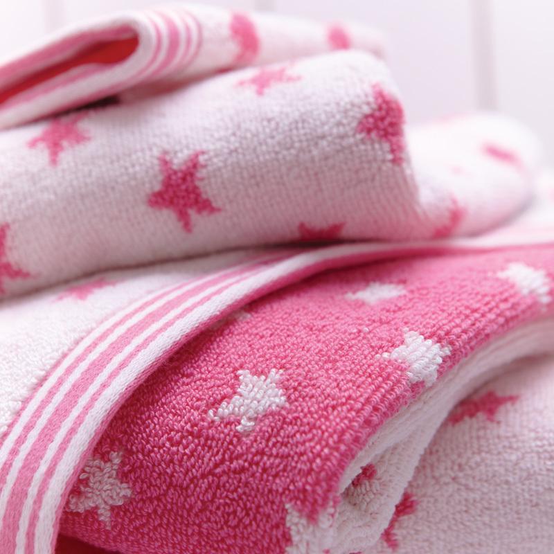 cath kidston handt cher star ink pink badehandtuch online. Black Bedroom Furniture Sets. Home Design Ideas