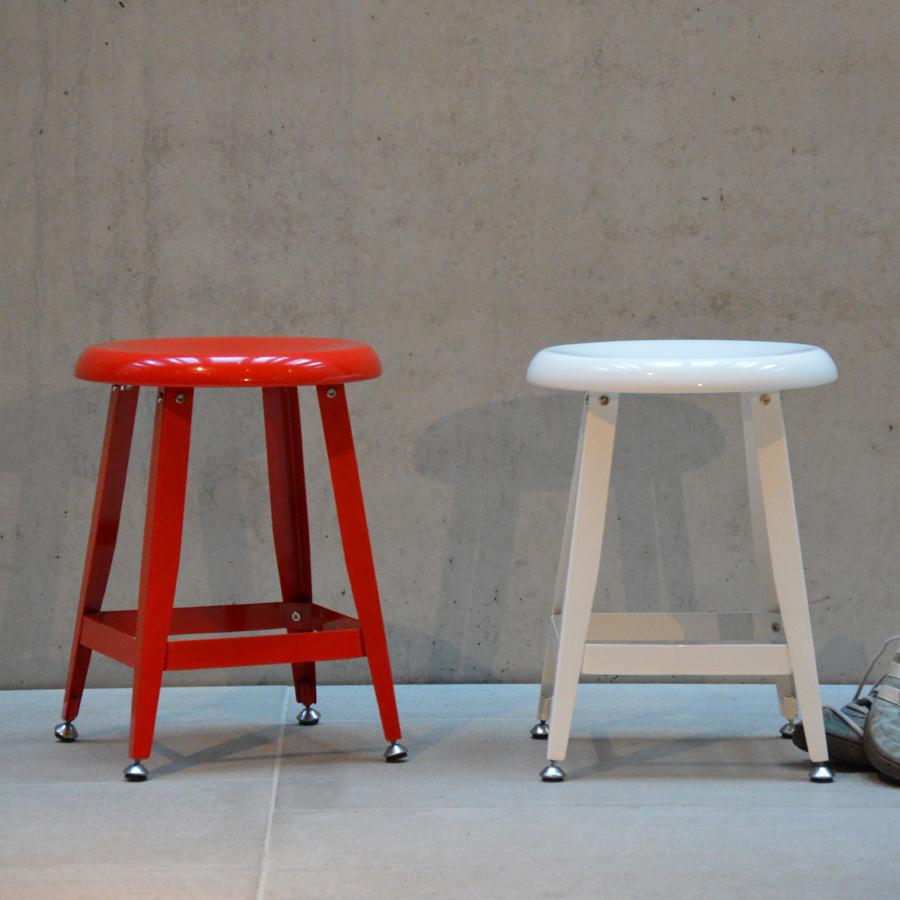 jan kurtz hocker mijas metall rot online kaufen emil. Black Bedroom Furniture Sets. Home Design Ideas