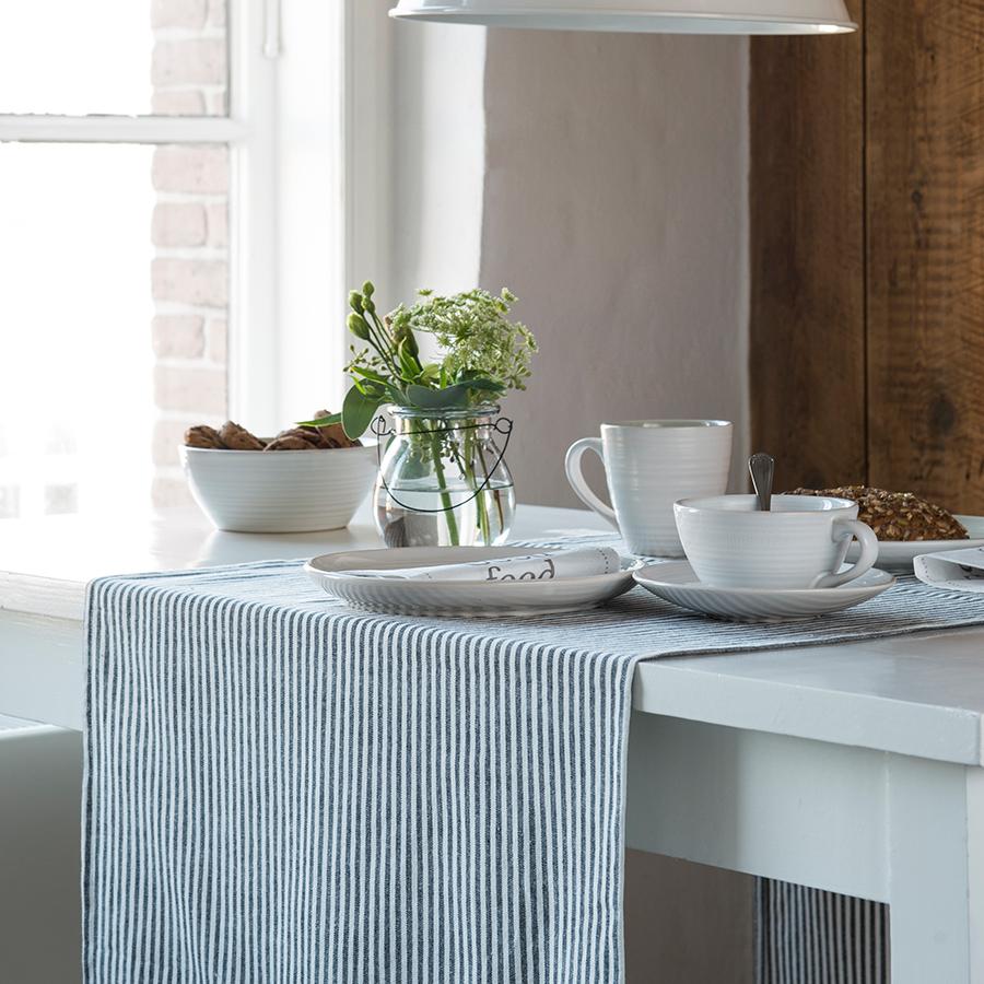 ib laursen tischl ufer schwarz gestreift online kaufen. Black Bedroom Furniture Sets. Home Design Ideas