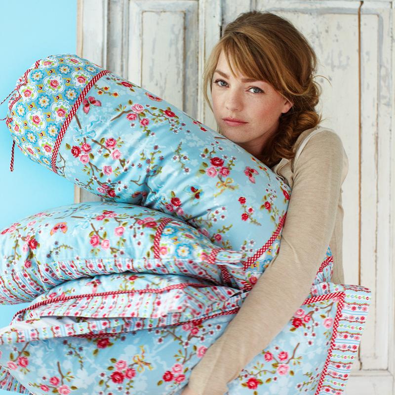 pip studio kissen chinese blossom blue 45x45 online. Black Bedroom Furniture Sets. Home Design Ideas
