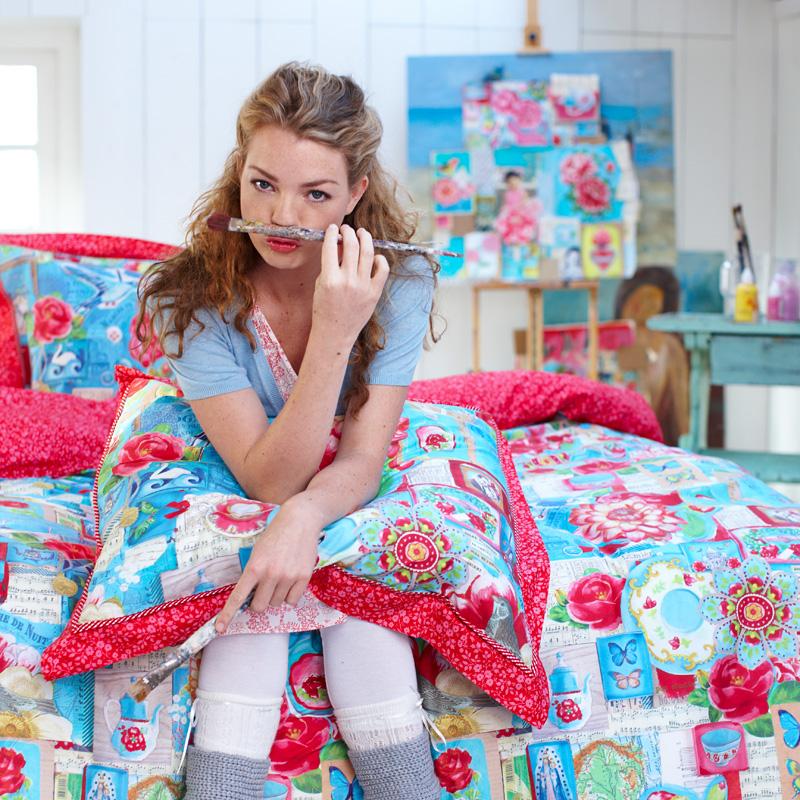 pip studio bettw sche pip art blue online kaufen emil. Black Bedroom Furniture Sets. Home Design Ideas