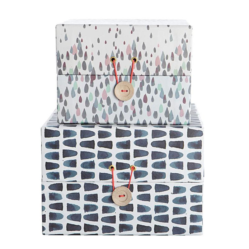 house doctor aufbewahrungskisten le atelier 2er set gro online kaufen emil paula. Black Bedroom Furniture Sets. Home Design Ideas