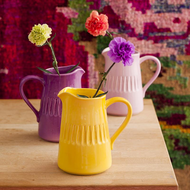 rice keramikkrug hellrosa online kaufen emil paula. Black Bedroom Furniture Sets. Home Design Ideas