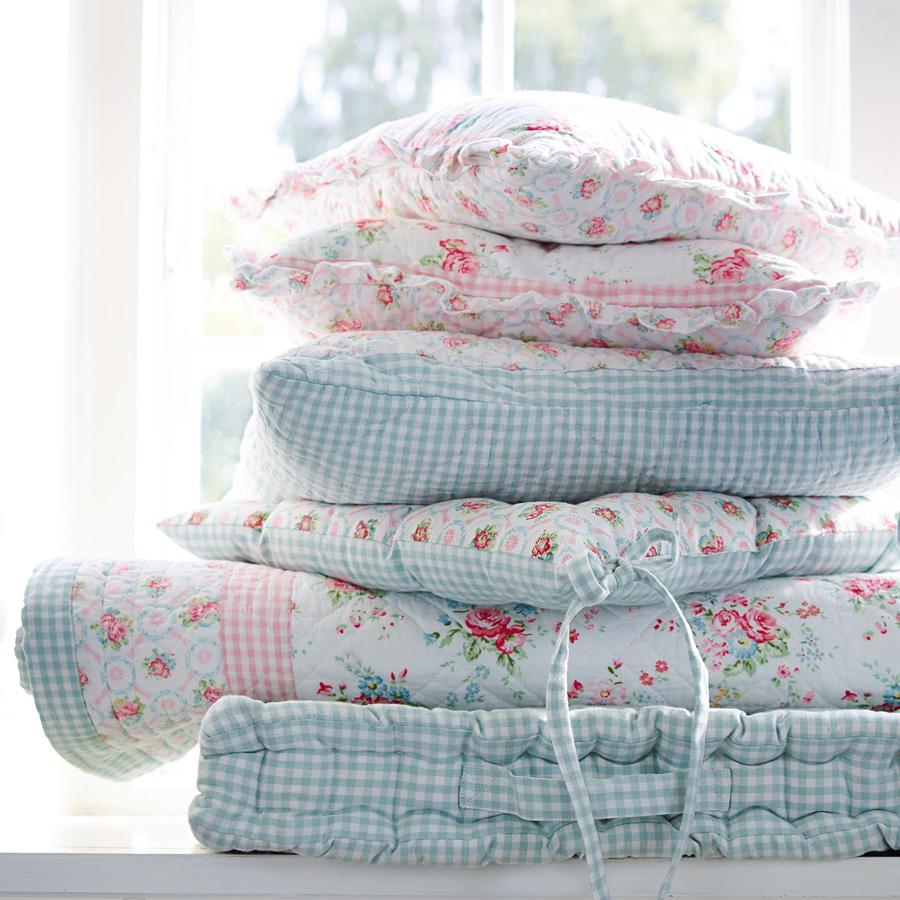 greengate gequiltete kissenh lle abelone raspberry 50x50 online kaufen emil paula. Black Bedroom Furniture Sets. Home Design Ideas