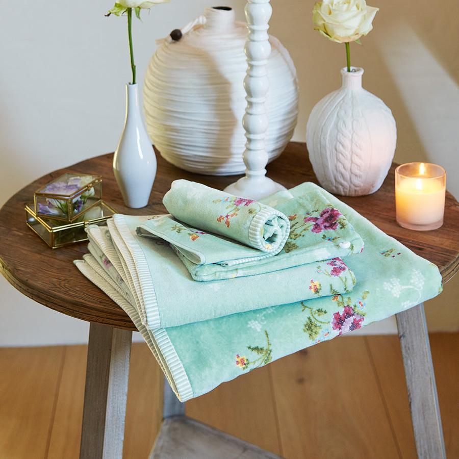 pip studio handt cher granny pip green g stetuch 30 x 50 cm online kaufen emil paula. Black Bedroom Furniture Sets. Home Design Ideas