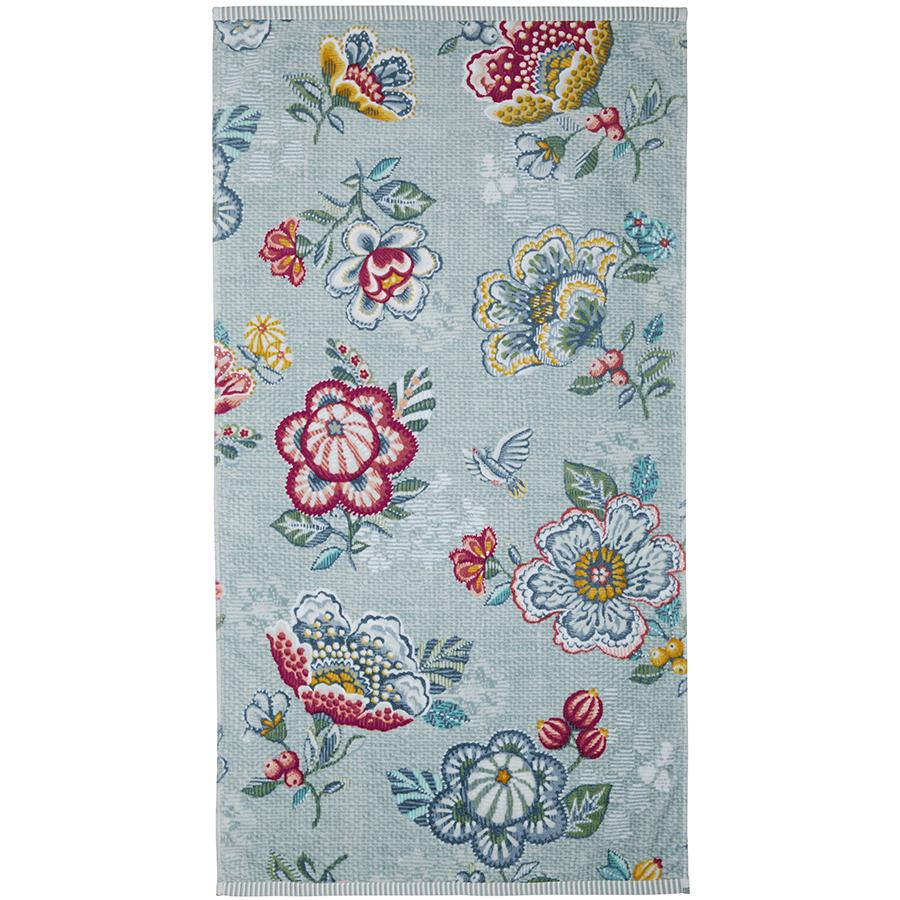 pip studio handt cher berry bird blue handtuch 55 x 100 cm online kaufen emil paula. Black Bedroom Furniture Sets. Home Design Ideas