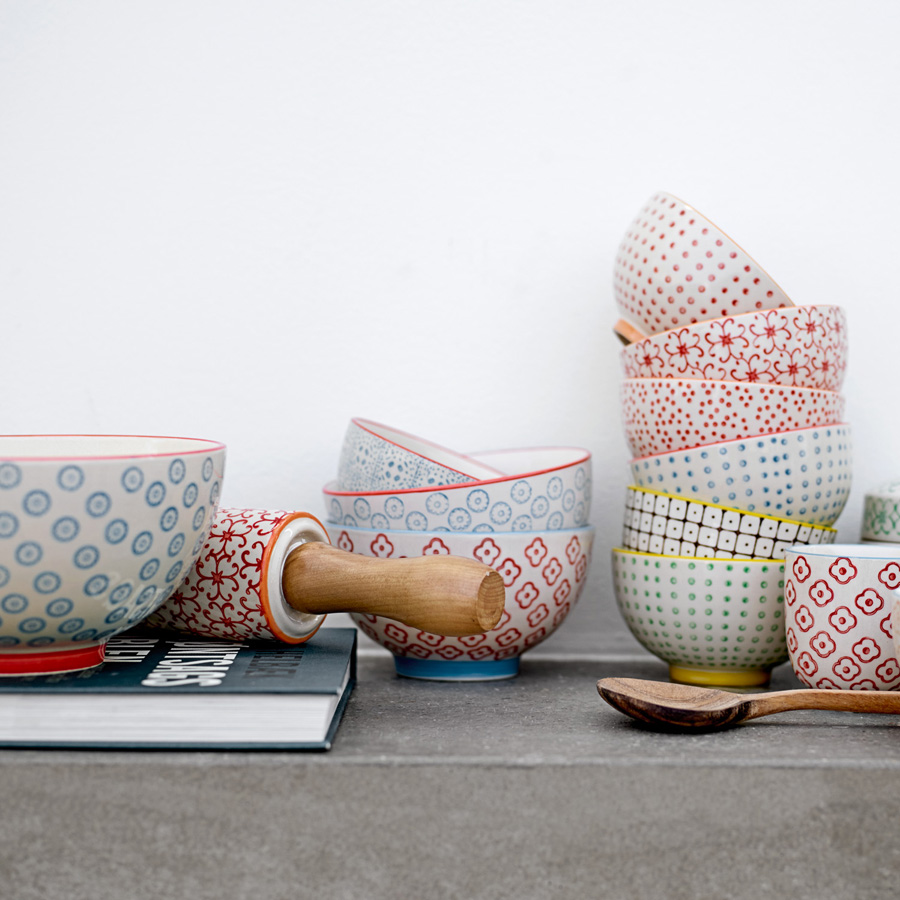 bloomingville teigrolle nudelholz emma carla red online kaufen emil paula. Black Bedroom Furniture Sets. Home Design Ideas