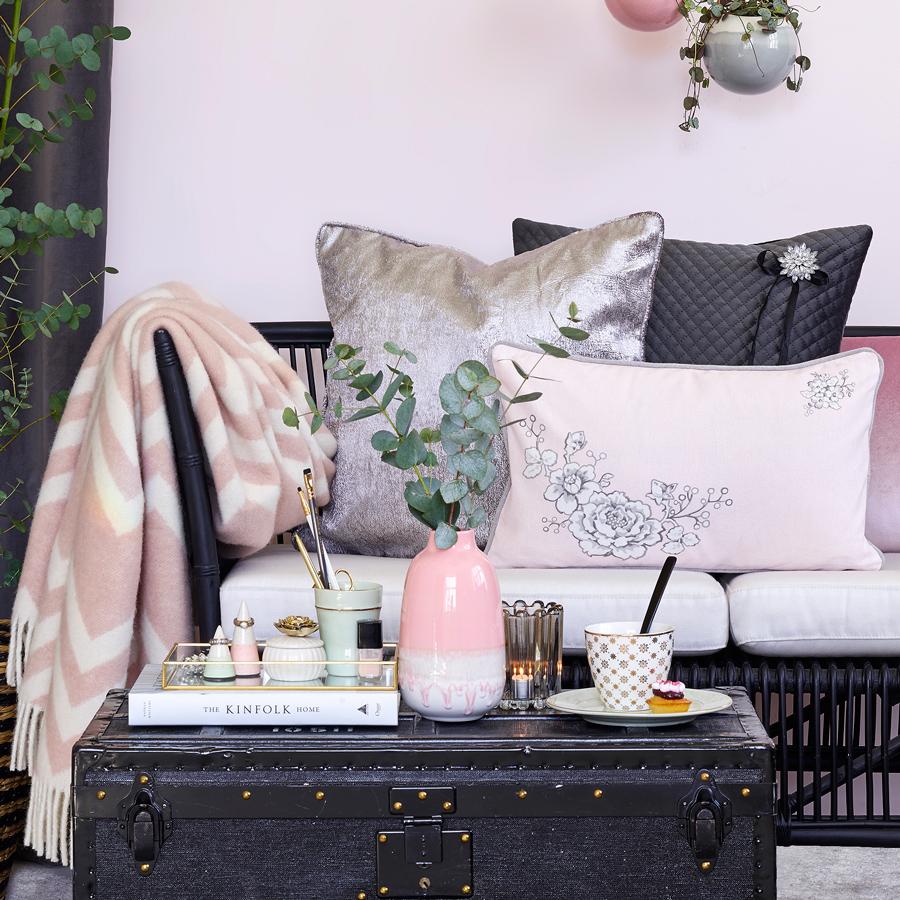 greengate tagesdecke ziggy pale pink 130x180 online kaufen. Black Bedroom Furniture Sets. Home Design Ideas