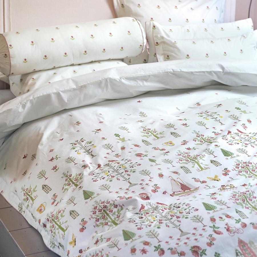 pip studio bettw sche family tree white online kaufen. Black Bedroom Furniture Sets. Home Design Ideas