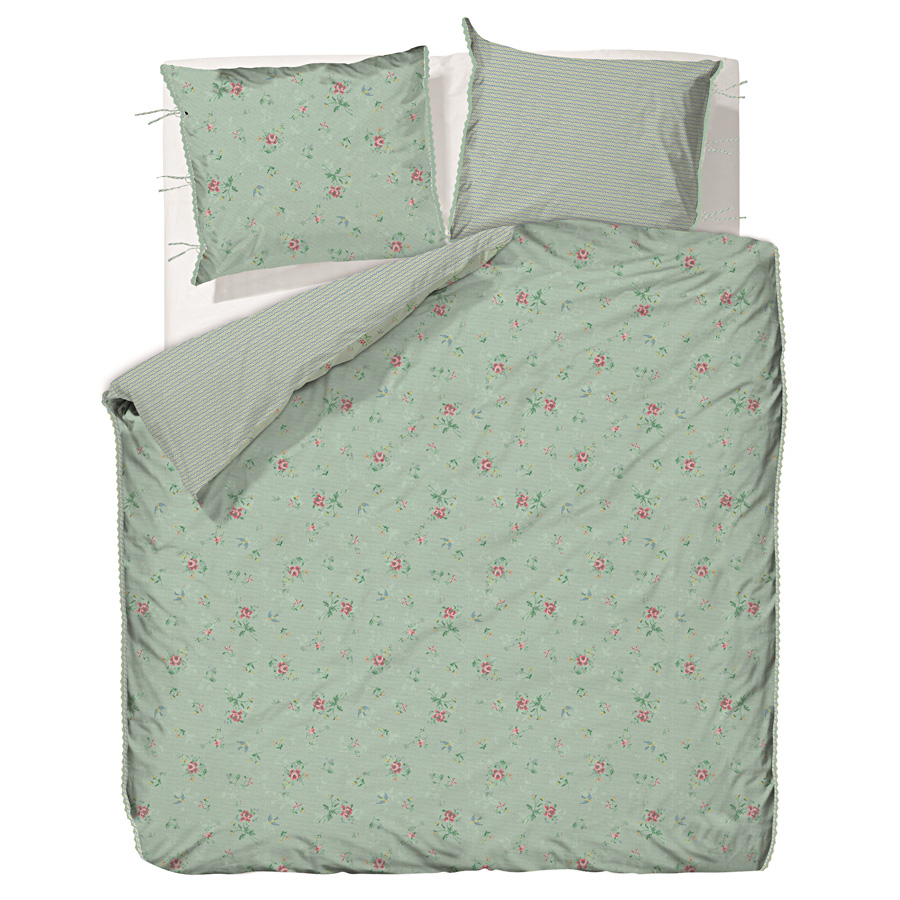 pip studio bettw sche granny pip green online kaufen emil paula. Black Bedroom Furniture Sets. Home Design Ideas