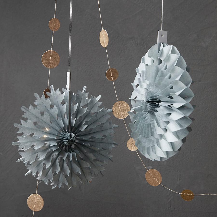 house doctor deko ornament cut grau s 8er set online kaufen emil paula. Black Bedroom Furniture Sets. Home Design Ideas