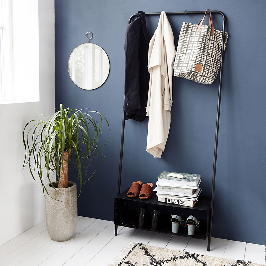 house doctor garderobe ways schwarz online kaufen emil paula. Black Bedroom Furniture Sets. Home Design Ideas