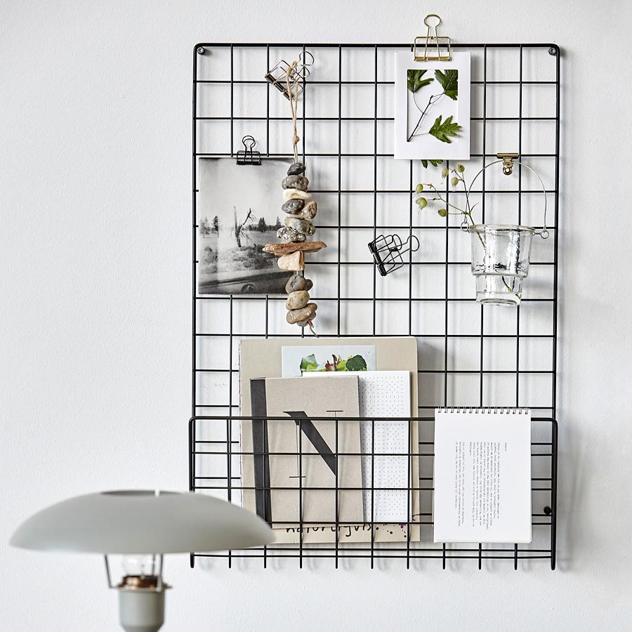 house doctor pinnwand mesh gold online kaufen emil paula. Black Bedroom Furniture Sets. Home Design Ideas