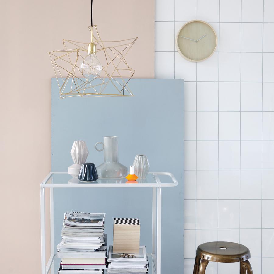 house doctor deckenlampe asymmetric glanzkupfer online kaufen emil paula. Black Bedroom Furniture Sets. Home Design Ideas