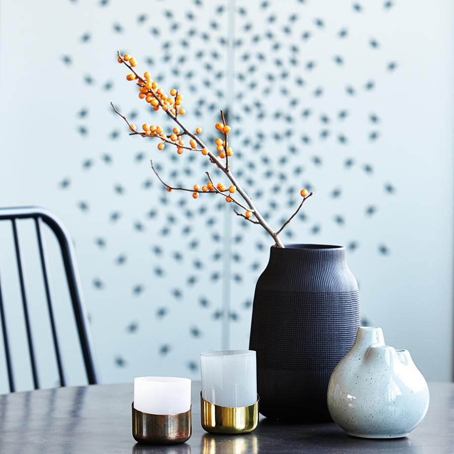 house doctor windlicht bright kupfer gr n 2er set online kaufen emil paula. Black Bedroom Furniture Sets. Home Design Ideas