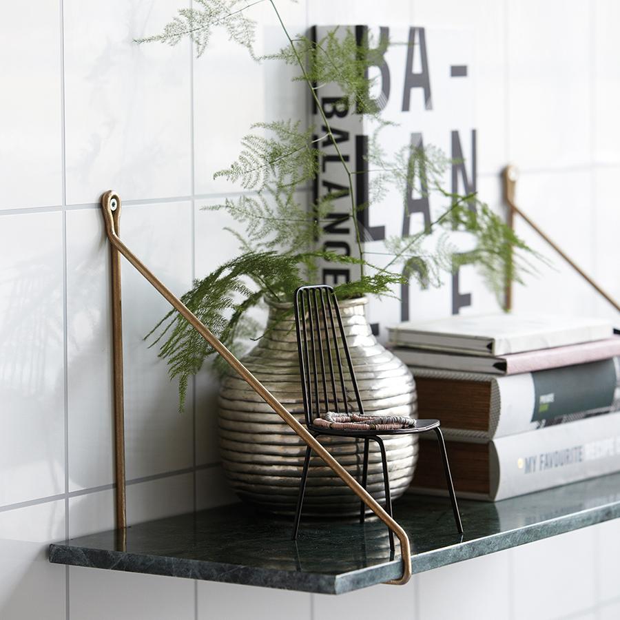 house doctor regalbrett marmor gr n online kaufen emil. Black Bedroom Furniture Sets. Home Design Ideas