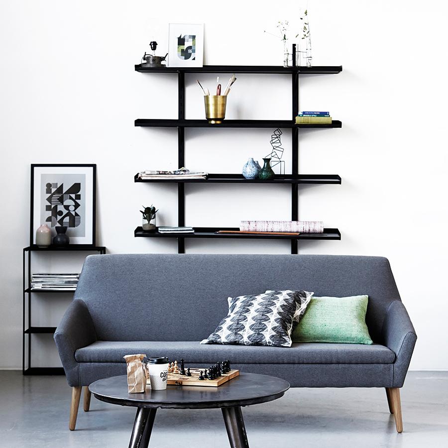 house doctor kissenbezug circle 50 x 50 cm online kaufen. Black Bedroom Furniture Sets. Home Design Ideas