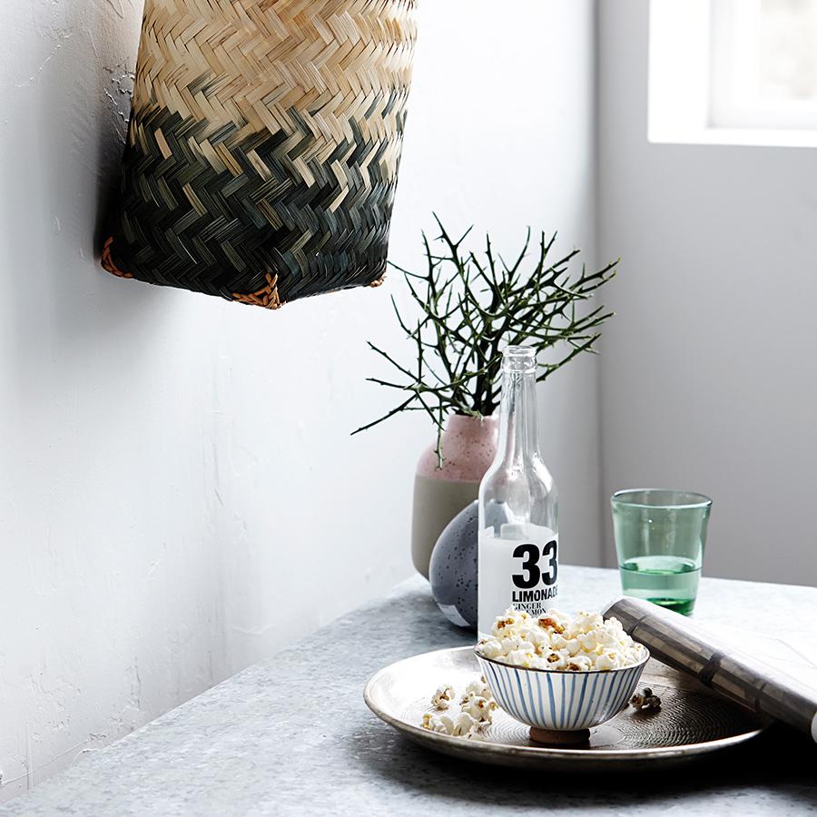house doctor kleine schale stripes wei blau online kaufen emil paula. Black Bedroom Furniture Sets. Home Design Ideas