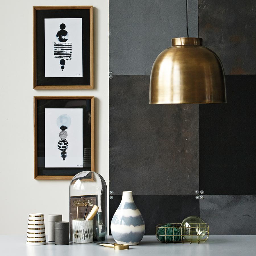 house doctor messing lampe bowl online kaufen emil paula. Black Bedroom Furniture Sets. Home Design Ideas