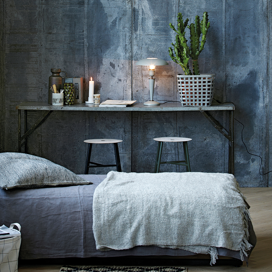 house doctor tischlampe opal grau online kaufen emil paula. Black Bedroom Furniture Sets. Home Design Ideas