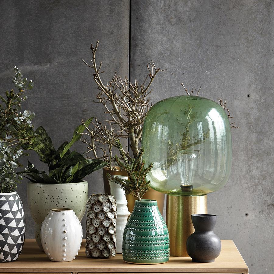 house doctor vase circles grau online kaufen emil paula. Black Bedroom Furniture Sets. Home Design Ideas