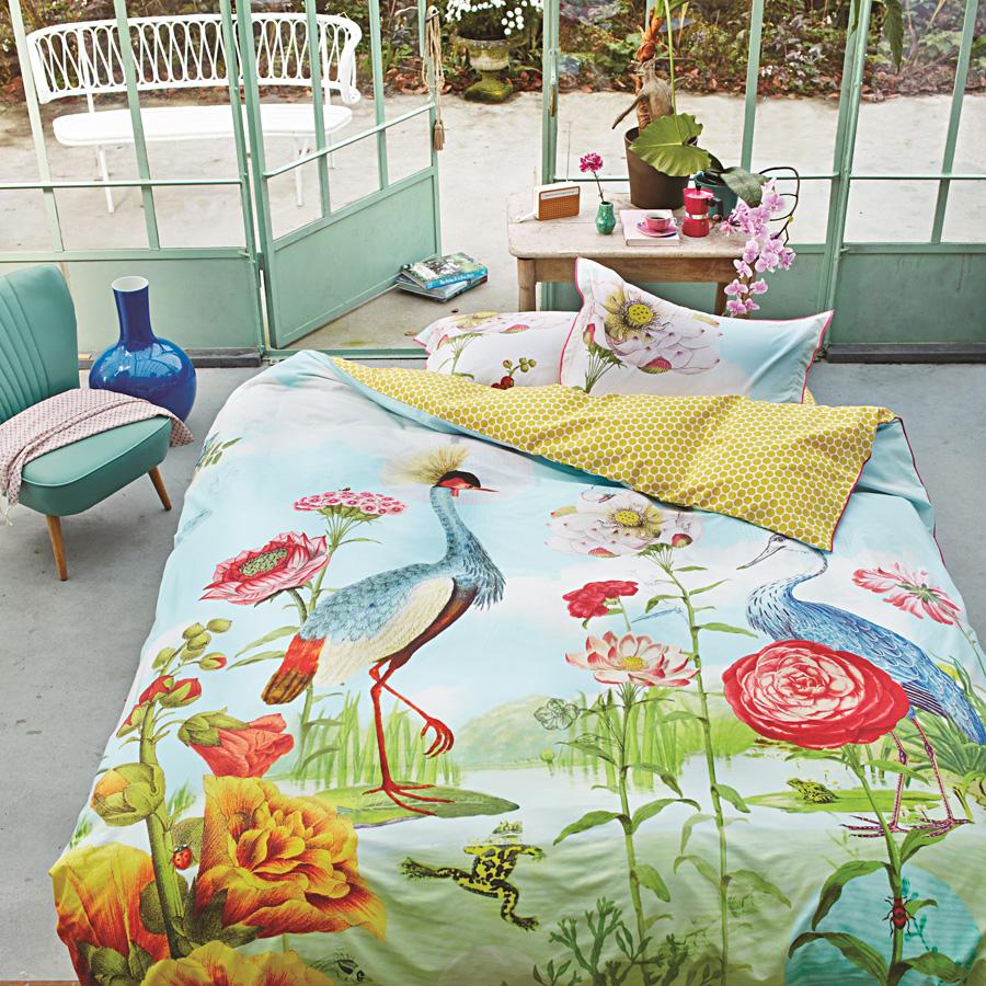 pip studio bettw sche kiss the frog multi online kaufen emil paula. Black Bedroom Furniture Sets. Home Design Ideas