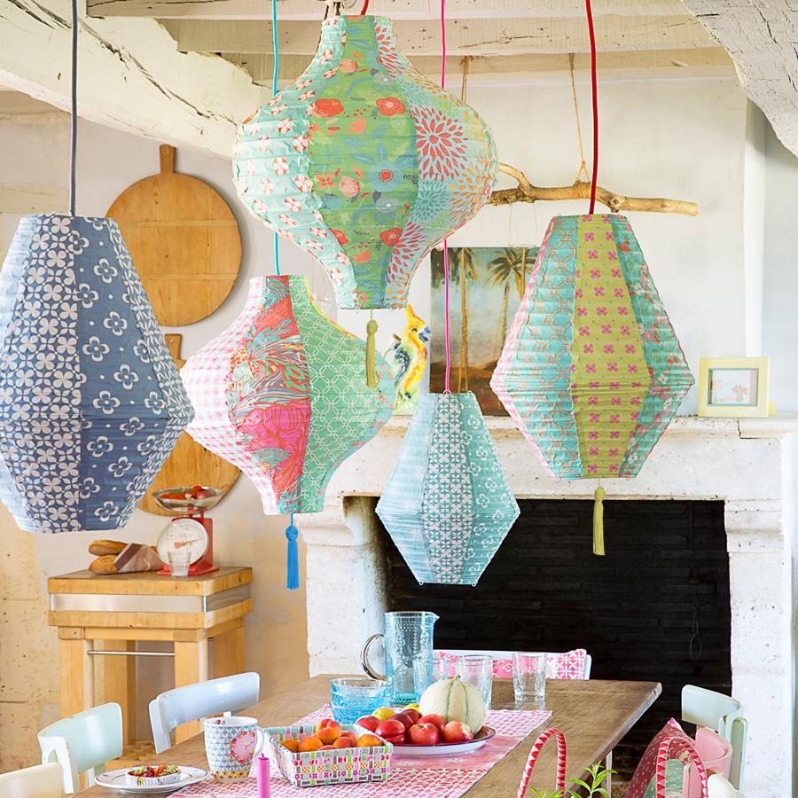overbeck friends lampenschirm josie mit troddel gelb. Black Bedroom Furniture Sets. Home Design Ideas