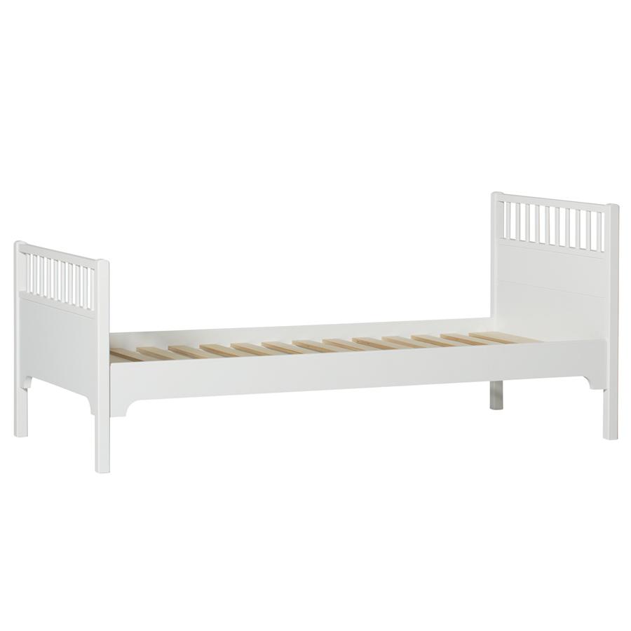 oliver furniture einzelbett wei sofort lieferbar. Black Bedroom Furniture Sets. Home Design Ideas