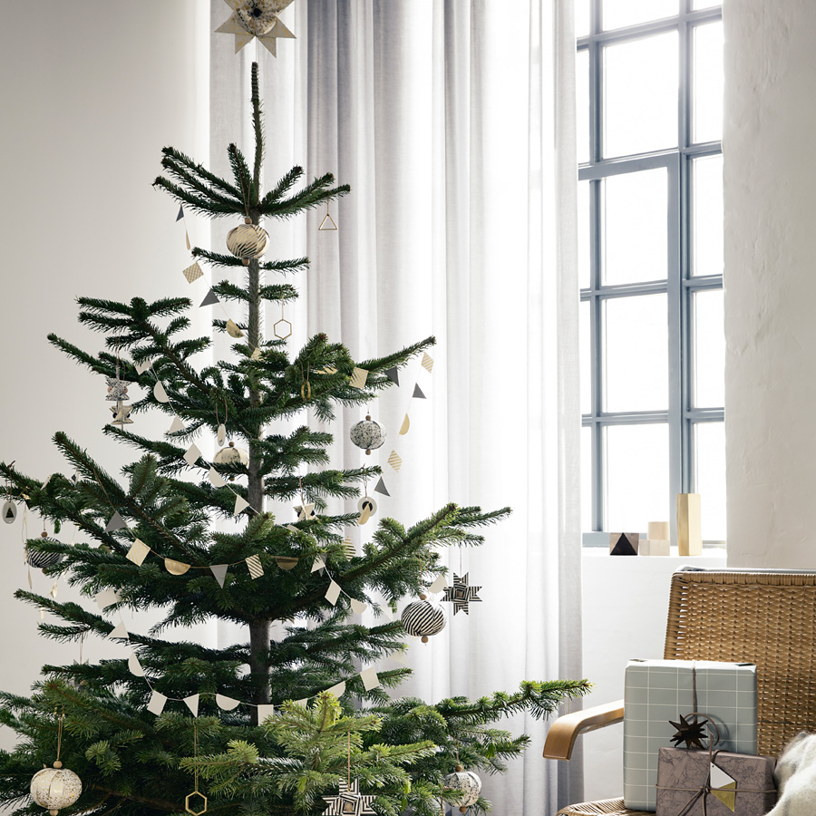ferm living christbaumspitze stern paper top star gold. Black Bedroom Furniture Sets. Home Design Ideas