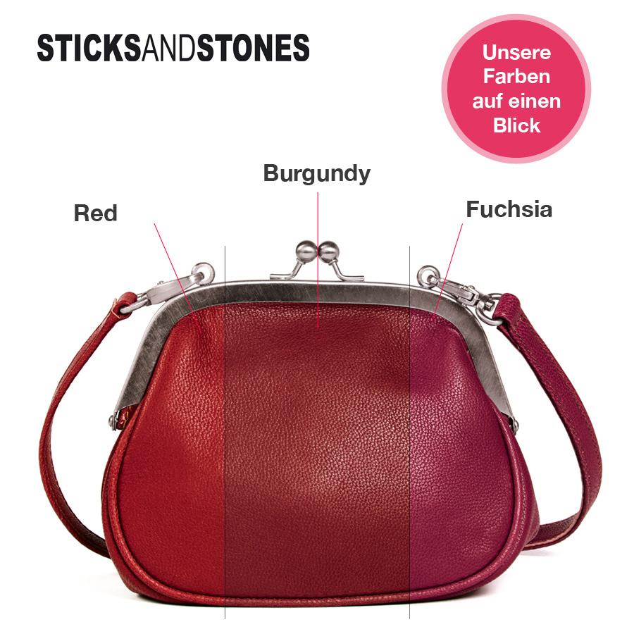 sticks and stones portemonnaie berlin red online kaufen emil paula. Black Bedroom Furniture Sets. Home Design Ideas