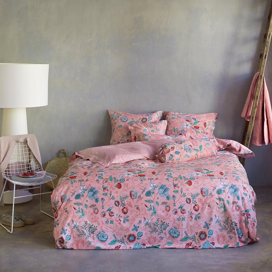 pip studio bettw sche spring to life petit pink online kaufen emil paula. Black Bedroom Furniture Sets. Home Design Ideas