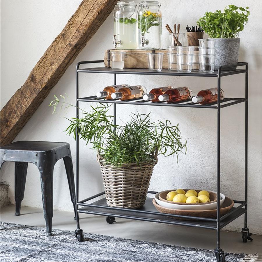 ib laursen bartisch brooklyn mit r dern online kaufen emil paula. Black Bedroom Furniture Sets. Home Design Ideas