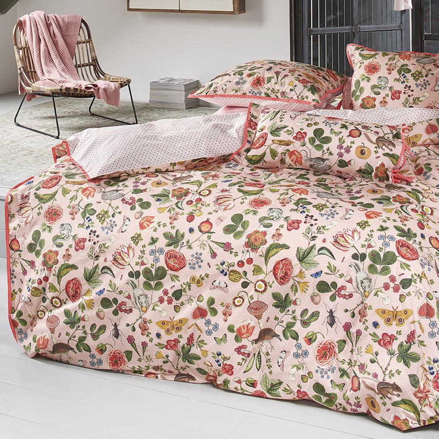 pip studio bettw sche woodsy pink 135 x 200 cm. Black Bedroom Furniture Sets. Home Design Ideas
