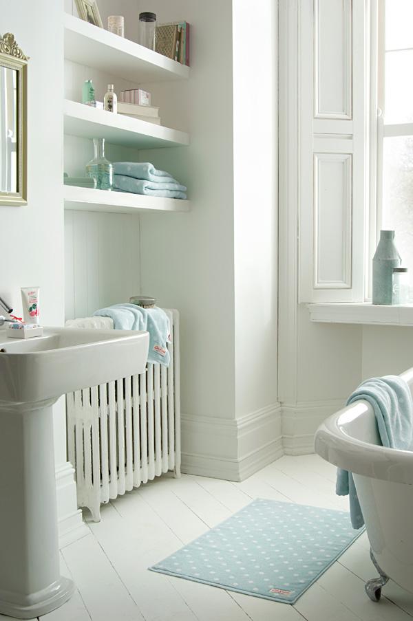 cath kidston handt cher large spot duckegg online kaufen emil paula. Black Bedroom Furniture Sets. Home Design Ideas