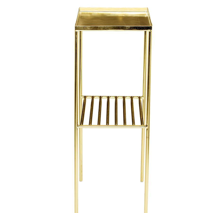 Beistelltisch gold catlitterplus for Beistelltisch glas gold