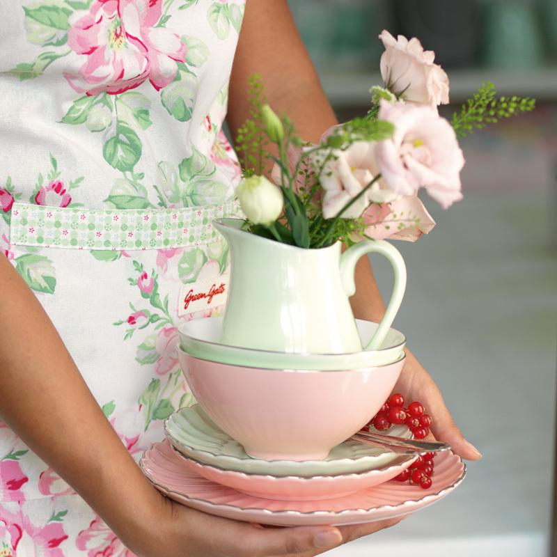 greengate teller pastel pink online kaufen emil paula. Black Bedroom Furniture Sets. Home Design Ideas