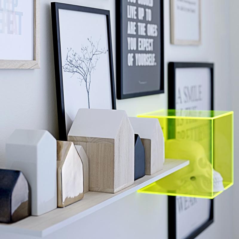 bloomingville holzhaus schwarz klein online kaufen emil paula. Black Bedroom Furniture Sets. Home Design Ideas