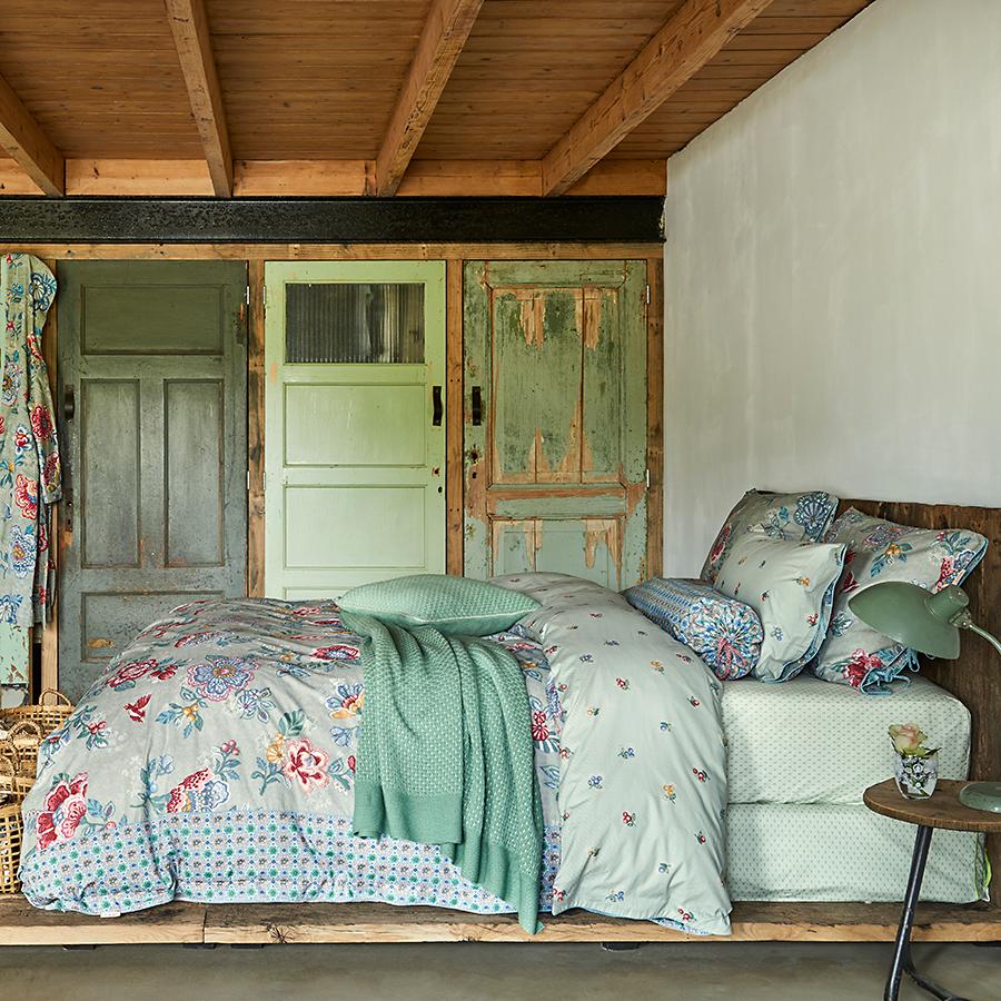 pip studio bettw sche berry bird green 135 x 200 cm kissenbezug 80 x 80 cm online kaufen emil. Black Bedroom Furniture Sets. Home Design Ideas