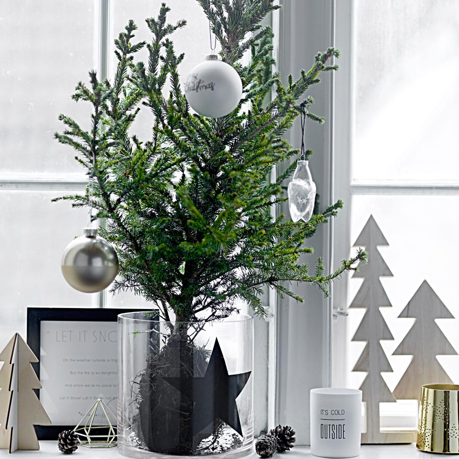 bloomingville weihnachtsbaumspitze stern wei online kaufen emil paula. Black Bedroom Furniture Sets. Home Design Ideas
