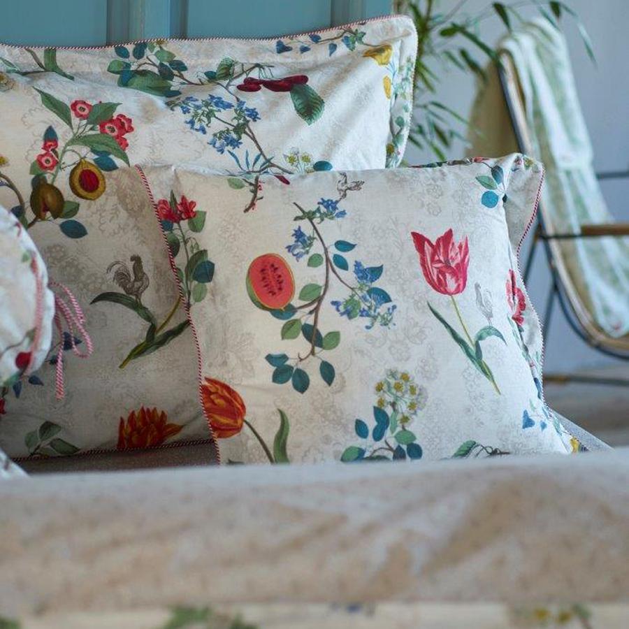 pip studio zierkissen cherry pip star white 45x45 online. Black Bedroom Furniture Sets. Home Design Ideas