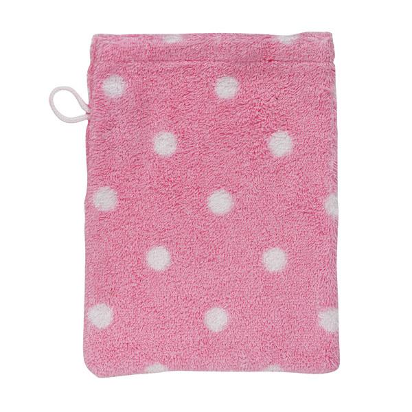 cath kidston handt cher large spot pink waschhandschuh online kaufen emil paula. Black Bedroom Furniture Sets. Home Design Ideas