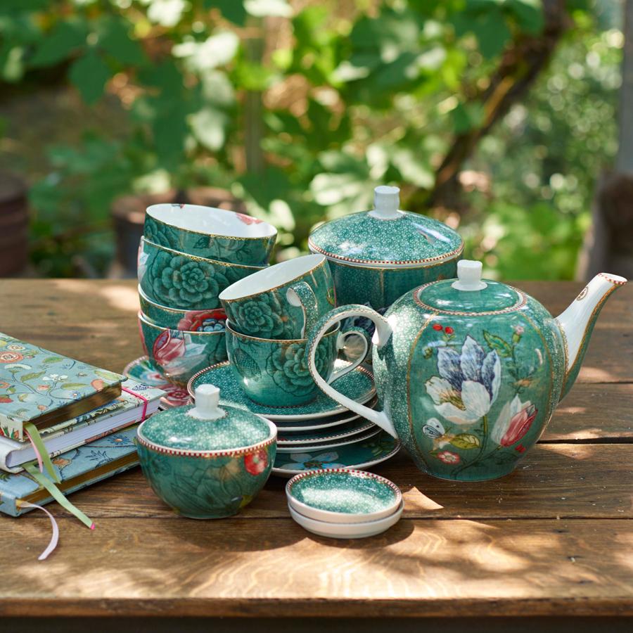 pip studio teebeutel sch lchen spring to life green online kaufen emil paula. Black Bedroom Furniture Sets. Home Design Ideas