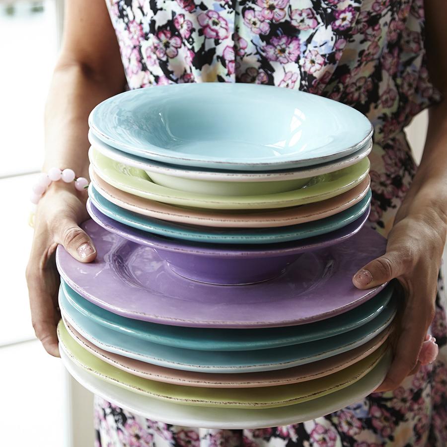 rice ovaler keramik servierteller t rkis turquoise online kaufen emil paula. Black Bedroom Furniture Sets. Home Design Ideas