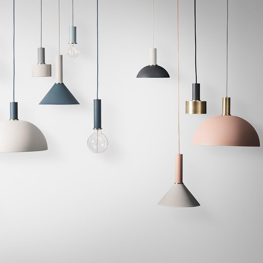 ferm living h ngeleuchte collect low black online kaufen emil paula. Black Bedroom Furniture Sets. Home Design Ideas