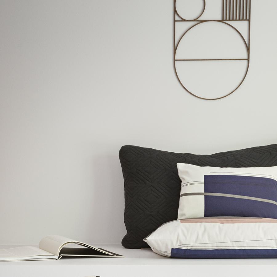 ferm living coussin colour block s4 acheter en ligne. Black Bedroom Furniture Sets. Home Design Ideas