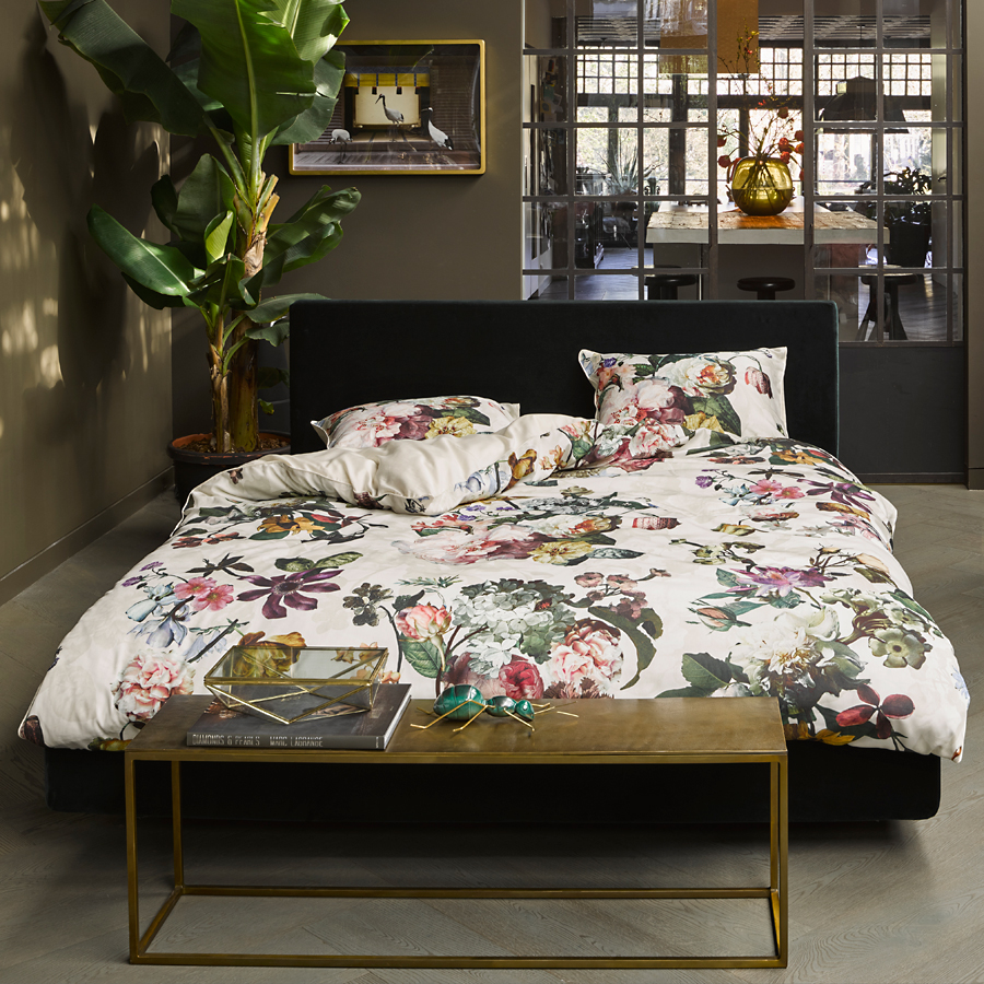 essenza bettw sche fleur ecru online kaufen emil paula. Black Bedroom Furniture Sets. Home Design Ideas
