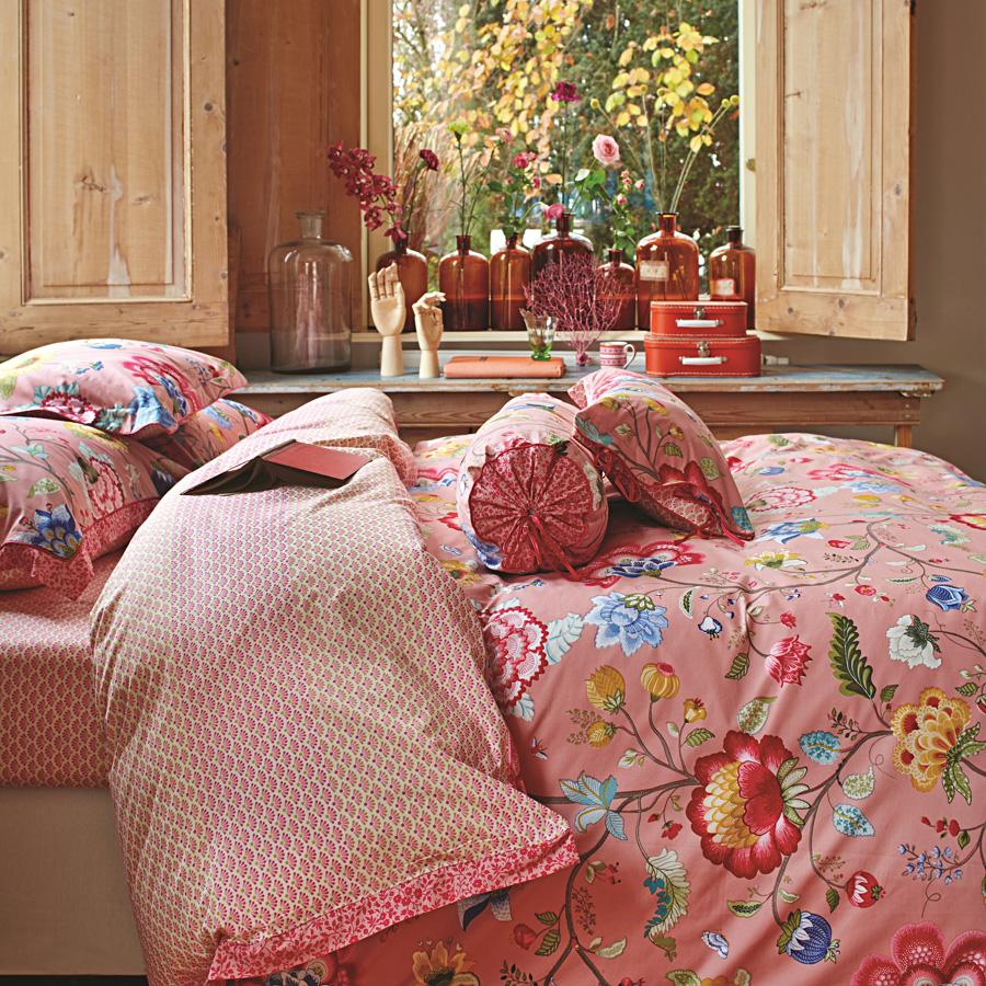 pip studio zierkissen floral fantasy old pink online kaufen emil paula. Black Bedroom Furniture Sets. Home Design Ideas