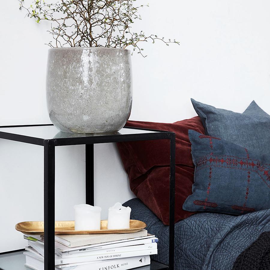 house doctor tablett rich messing gro online kaufen emil paula. Black Bedroom Furniture Sets. Home Design Ideas